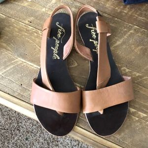 Like new Free people sandals